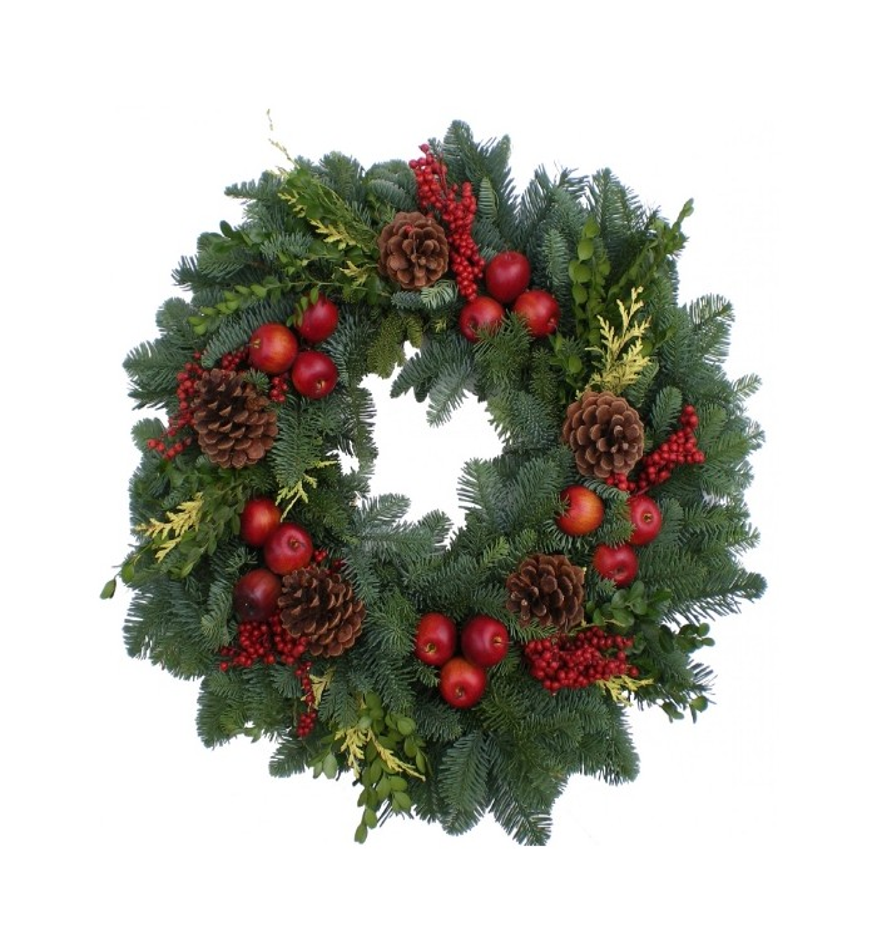 Regal Fruit Wreath