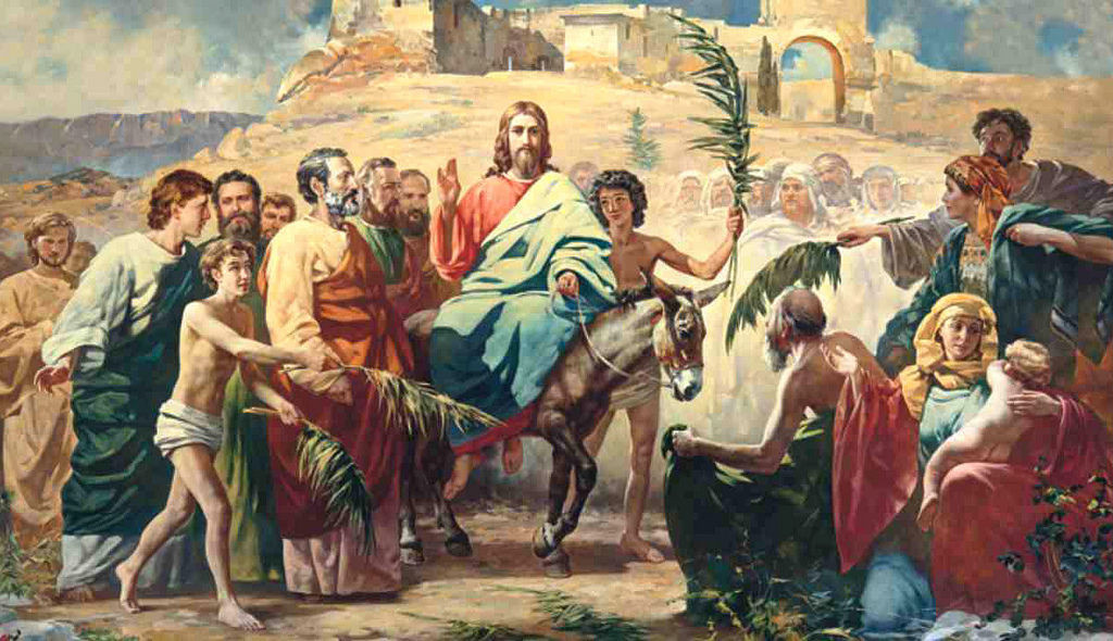 The history and celebration of Palm Sunday